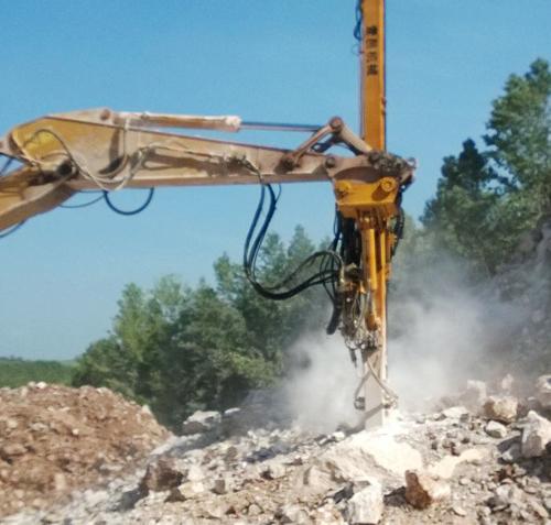 挖改切削鉆機案例
