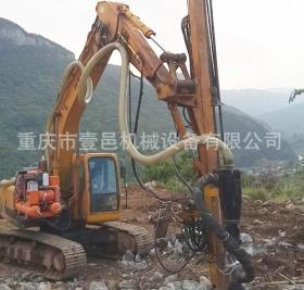 上海挖掘機改鉆機